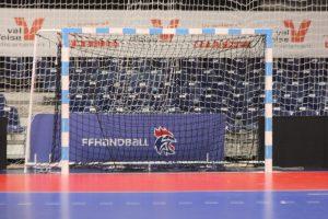 Entraînement handball minime @ gymnase Pellouard